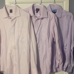 Men's Dress Shirt Lot. Size 17-34.